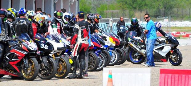 Λίγο πριν την εκκίνηση του yellow racebike την Άνοιξη του '11